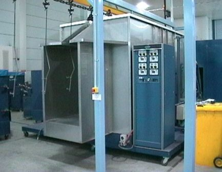 Cartridge Powder Booth